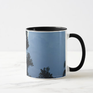 Trees and clouds mug