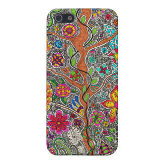 Trees and Flowers iPhone 5/5S Covers