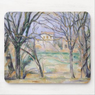 Trees and houses, 1885-86 mouse mat