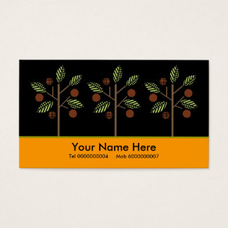 Trees And Their Fruit Business Cards
