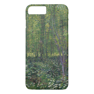 Trees and Undergrowth by Vincent Van Gogh iPhone 7 Plus Case