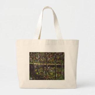 TREES AND UNDERGROWTH JUMBO TOTE BAG