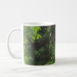 Trees and vines coffee mug