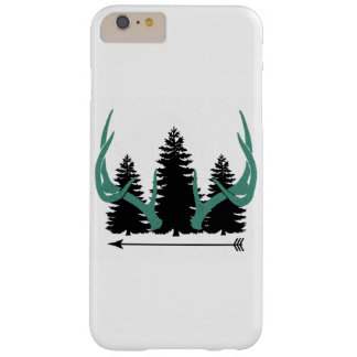 Trees, antlers and arrow barely there iPhone 6 plus case