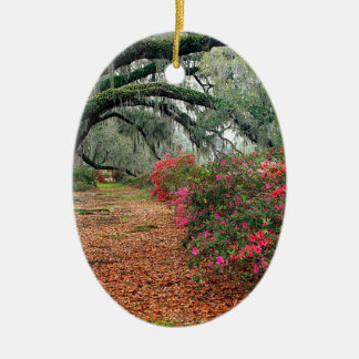Trees Azaleas Oaks Magnolia Charleston Christmas Ornament