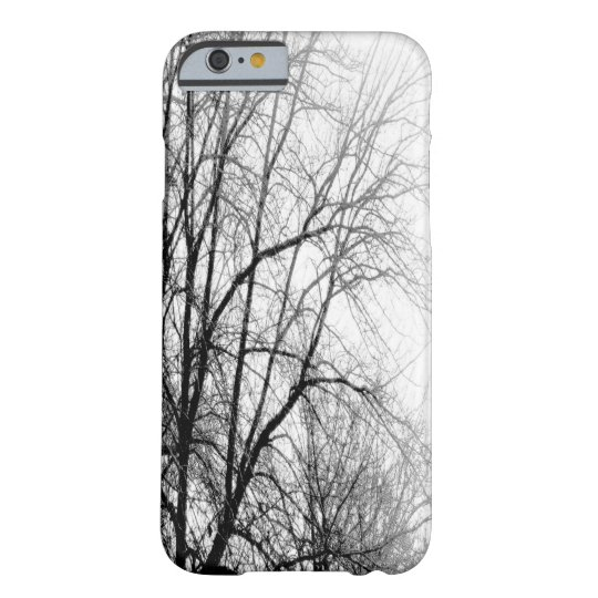 TREES (BLACK AND WHITE) iPhone 6 Case