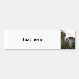 Trees Car Bumper Sticker