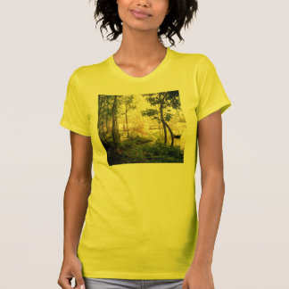 Trees by River T-Shirt