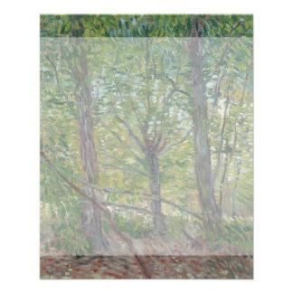 Trees by Vincent Van Gogh 11.5 Cm X 14 Cm Flyer