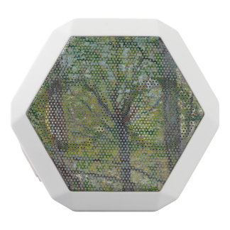 Trees by Vincent Van Gogh White Boombot Rex Bluetooth Speaker