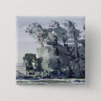 Trees - Dawn 15 Cm Square Badge