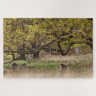 Trees & Deers Jigsaw Puzzle