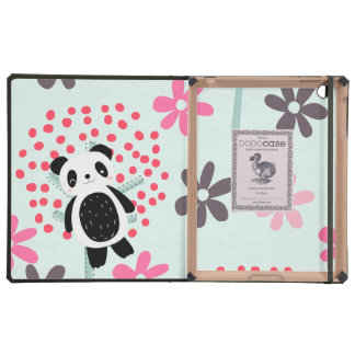 Trees, Flowers, and Panda Bears Cover For iPad