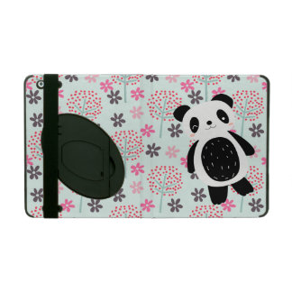 Trees, Flowers, and Panda Bears iPad Folio Cover