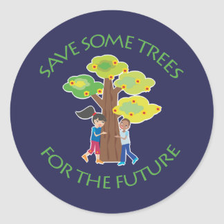 Trees for the Future Round Sticker