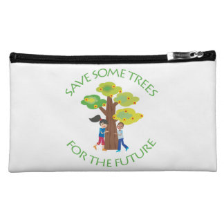 Trees, Forests, Hugger Cosmetics Bags