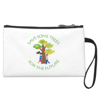 Trees, Forests, Hugger Wristlet Clutches