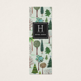 Trees Forrest Pattern | Gardener Business Cards