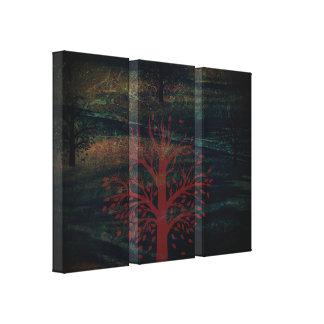 Trees & Hills Canvas Print - Option 1