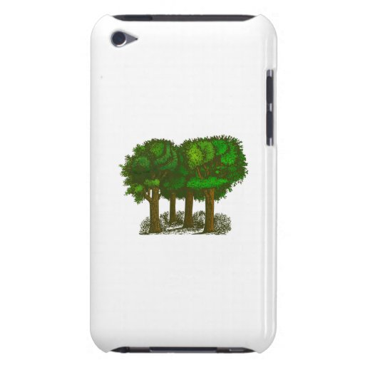 Trees in a Forest iPod Touch Case