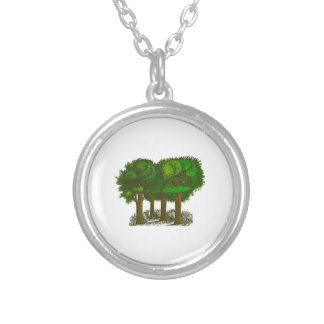 Trees in a Forest Pendant