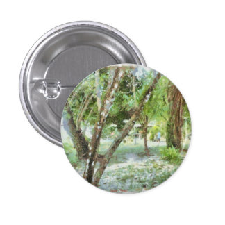 Trees in a local compound 3 cm round badge
