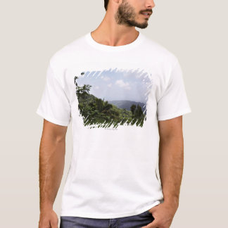 Trees in a rainforest, El Yunque Rainforest, T-Shirt