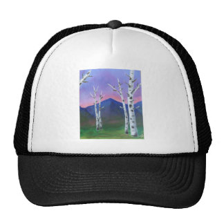 Trees in front of Mountains II Cap