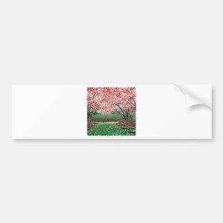 Trees In Full Bloom Bumper Sticker
