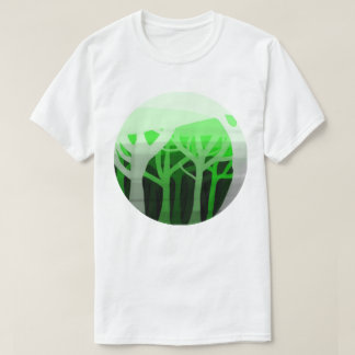 Trees in shadow T-Shirt