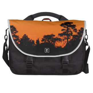 Trees in Silhouette Commuter Bags