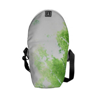 Trees in the Forrest View Messenger Bags