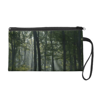 Trees in the Forrest Wristlet Purses