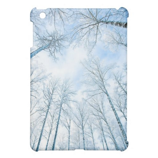 trees in winter case for the iPad mini