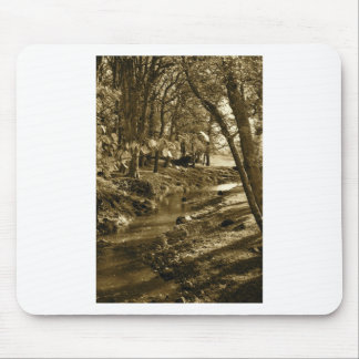 Trees in Yorkshire Mouse Mat