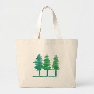 Trees Large Tote Bag