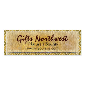 Trees Northwest Pack Of Skinny Business Cards