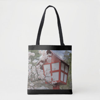Trees of cherry tree tote bag