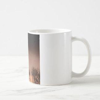 Trees Ominous Evening Classic White Coffee Mug