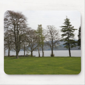 Trees on the shore of Loch Ness Mouse Pads