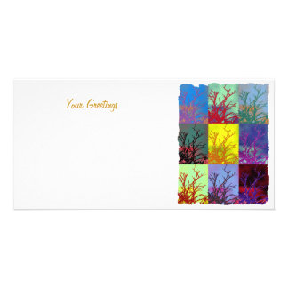TREES PHOTO CARD TEMPLATE