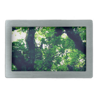 Trees Rectangular Belt Buckles