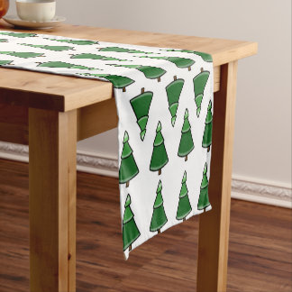 Trees Short Table Runner