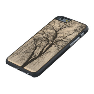Trees silhouettes in winter carved® maple iPhone 6 slim case