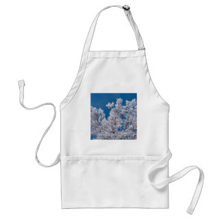 Trees Snow Branches Minnesota Aprons