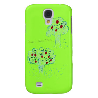 TREES WITH FRUITS GALAXY S4 CASE