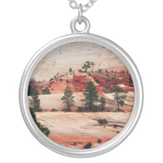 Trees Within Sand Dunes Necklaces