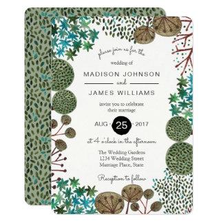 Trees Woodland Forest   Wedding   Invitation