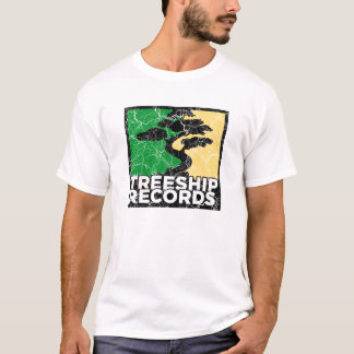 "Treeship Records ""Distressed"" T-Shirt"