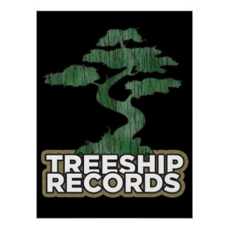 Treeship Records Poster